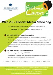 "Corso ""WEB 2.0: il social media marketing"""
