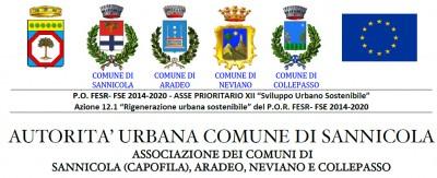 """P.O. FESR- FSE 2014-2020 – Attuazione della SISUS dell'Area Urbana denominata """"Dalla Costa Jonica alle Serre Salentine"""""""