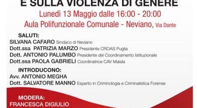 Seminario sulla criminologia investigativa e sulla violenza di genere